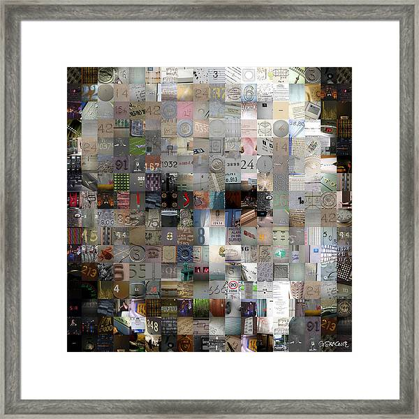 Master Of Numbers Framed Print