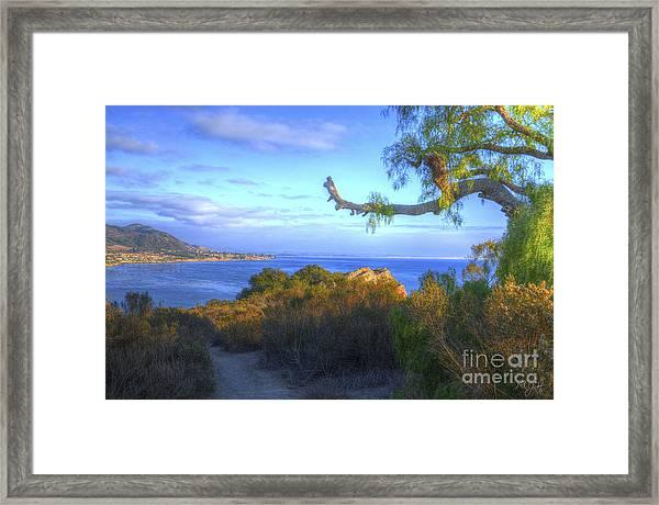 Masterpiece Coastline Framed Print