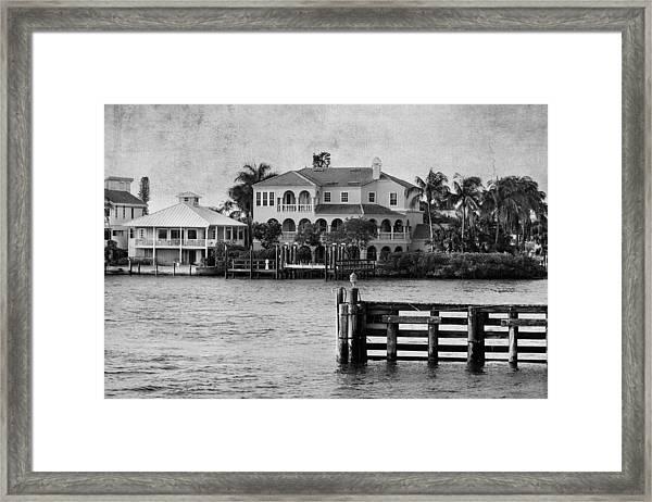 Matanzas Pass - Fort Myers Beach - Florida Framed Print