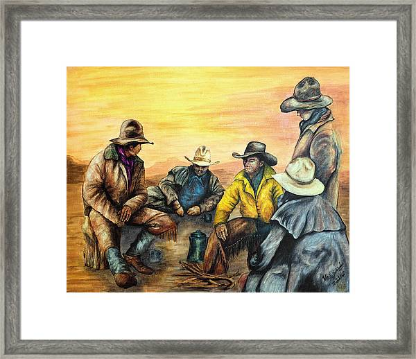 Matchless Framed Print