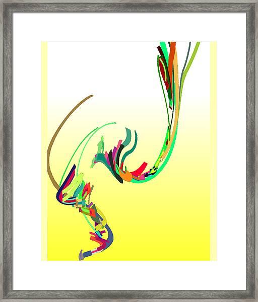Mating Dance Framed Print