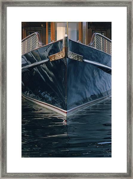 Matriark - Lake Geneva Wisconsin Framed Print