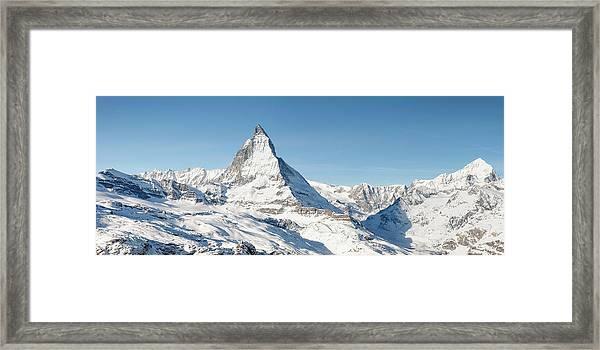 Matterhorn Panorama Framed Print
