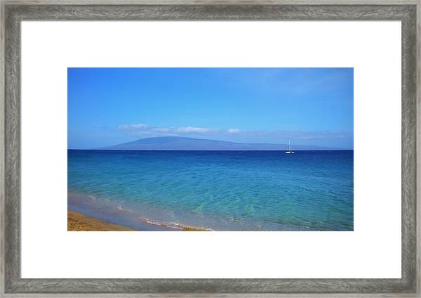 Maui Beach Framed Print