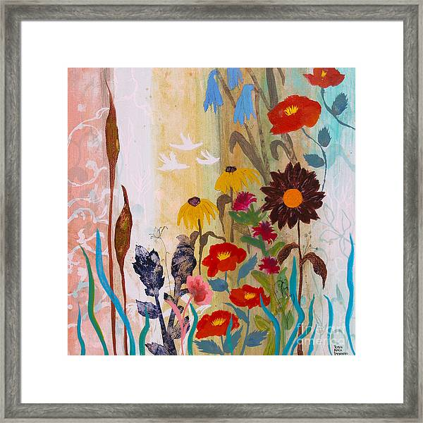 May Melody Framed Print