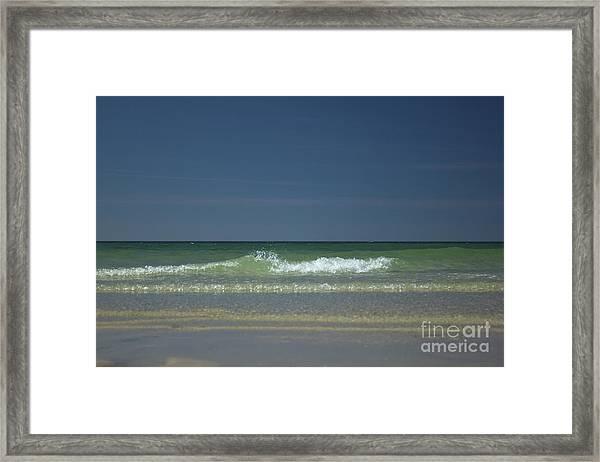 Mayflower Beach On Cape Cod Framed Print