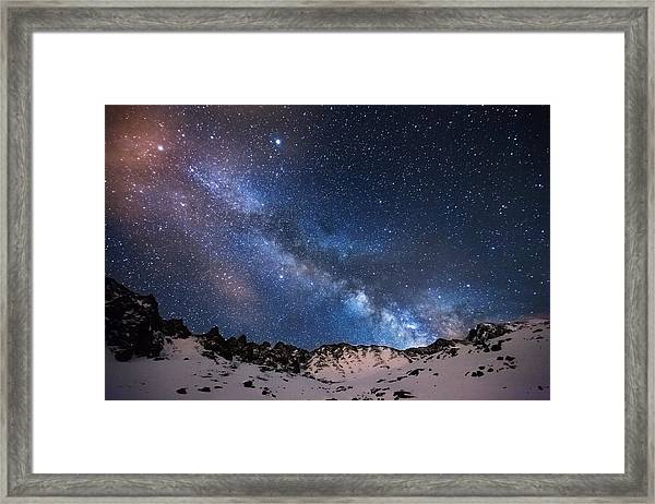 Mayflower Gulch Milky Way Framed Print