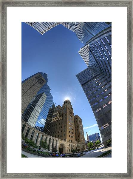 Mayo Clinic In Rochester Framed Print