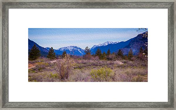 Mazama From Wolf Creek Framed Print