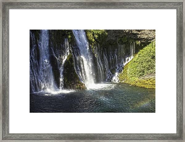 Mcarthur-burney Falls 2 Framed Print