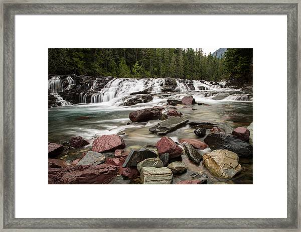 Mcdonald Creek Framed Print