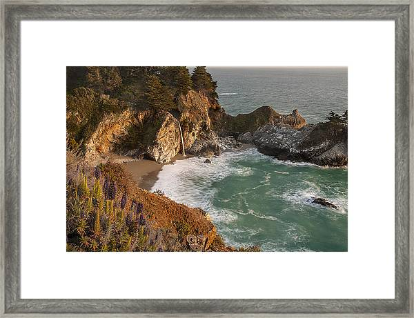 Mcway Falls 5 Framed Print