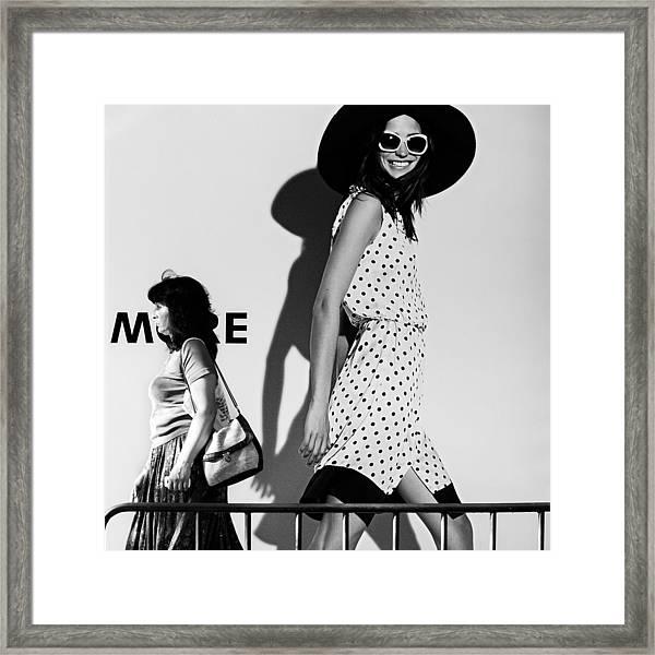 Me And My Expectations Framed Print by Bobby Kostadinov