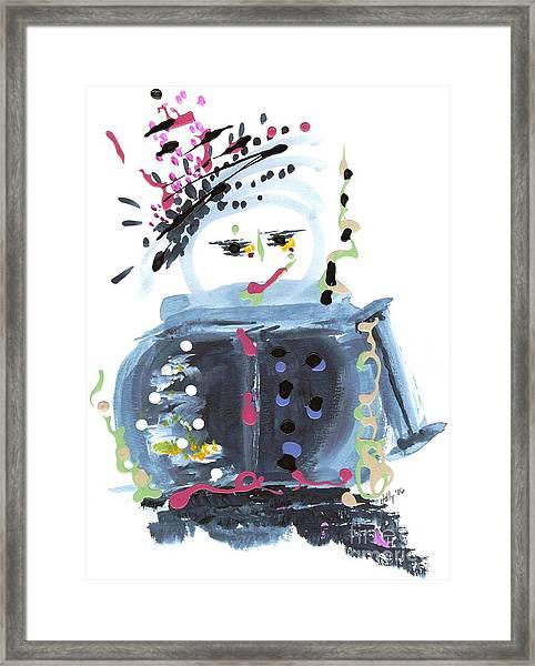 Me Stewpot Framed Print