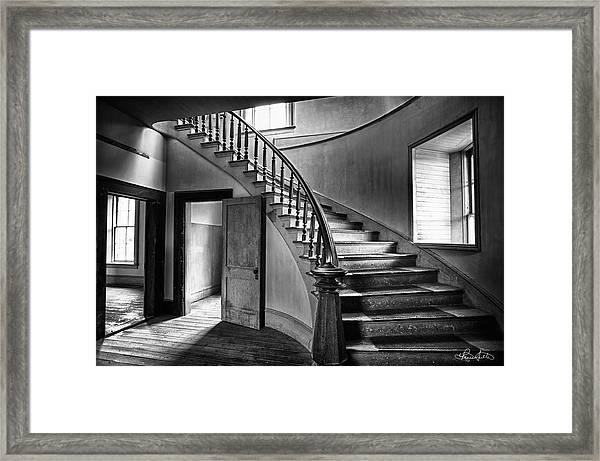 Meade Staircase Framed Print