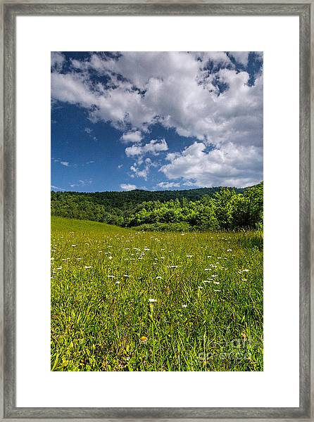 Black Rock Mountains Framed Print