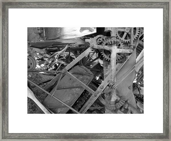 Mechanical Framed Print