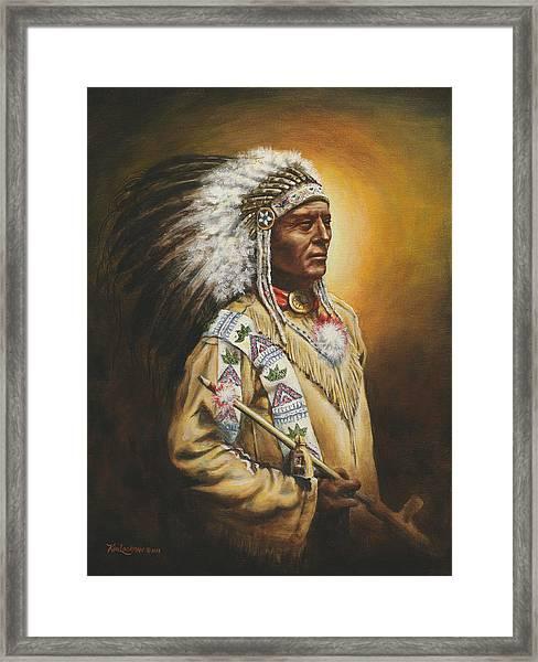 Medicine Chief Framed Print