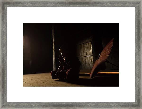 Meditation Framed Print by Gunarto Song
