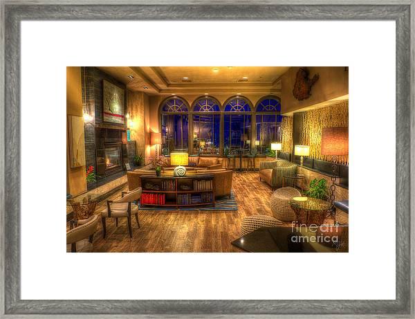 Meet Me In The Lobby Framed Print