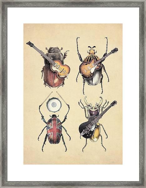 Meet The Beetles Framed Print