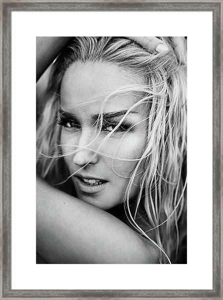 Melissa Framed Print by Martin Krystynek Qep