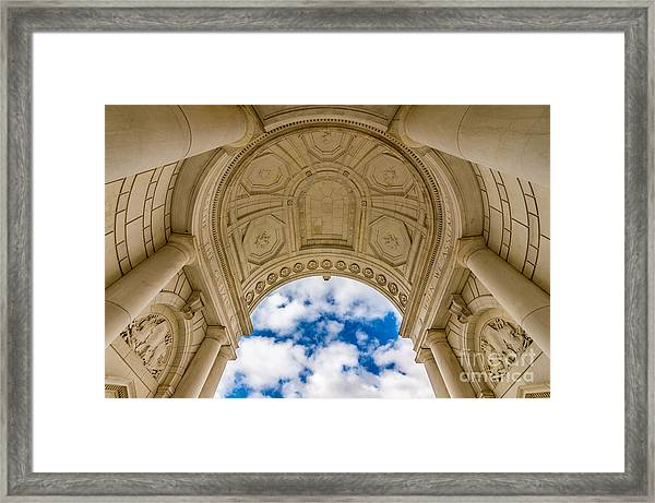 Memorial Amphitheater Arlington National Cemetery Framed Print