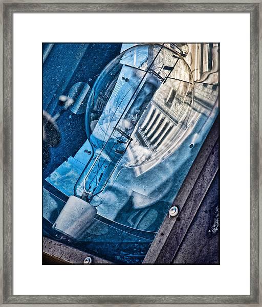 Memorial Reflection Framed Print