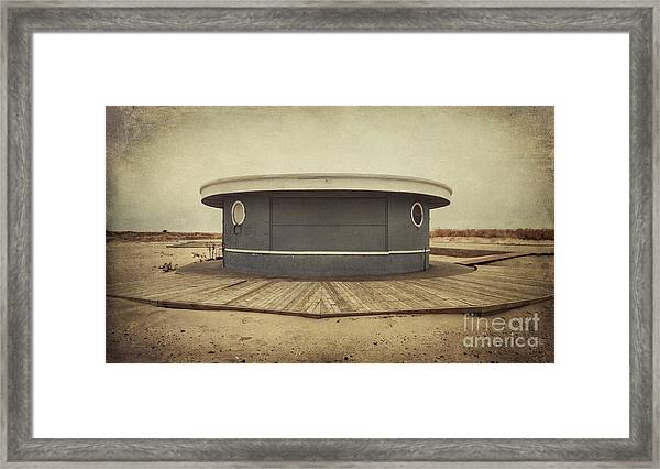Memories In The Sand Framed Print