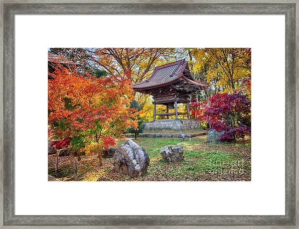 Memories Of Autumn-4 Framed Print by Tad Kanazaki