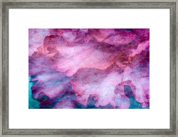 Framed Print featuring the mixed media Memories Of Petals by Priya Ghose