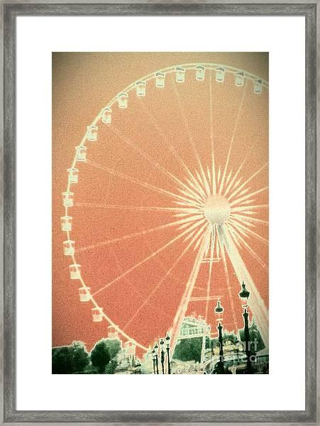 Memories Of Springtime In Paris Framed Print