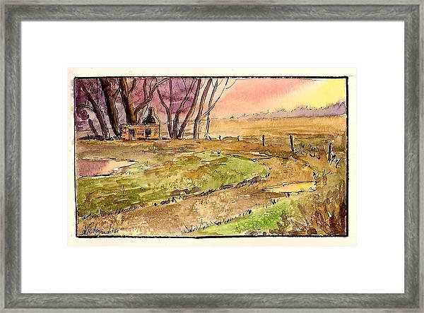 Memories Of Sunsets  Framed Print