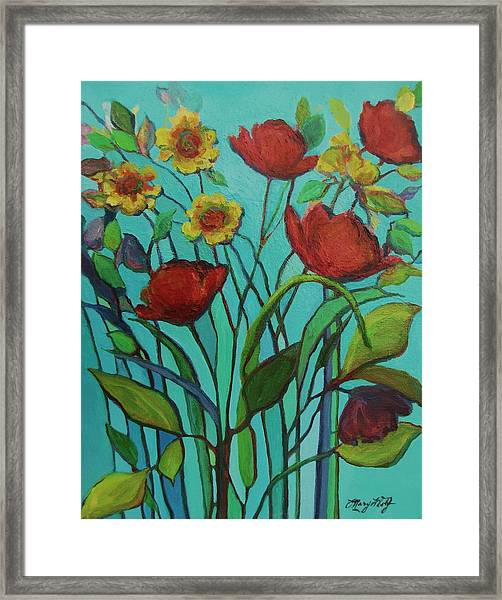 Memories Of The Meadow Framed Print