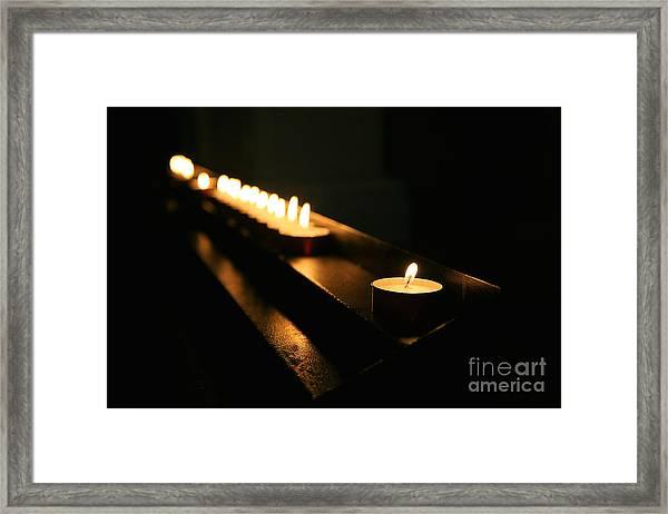 Memory Flame Framed Print