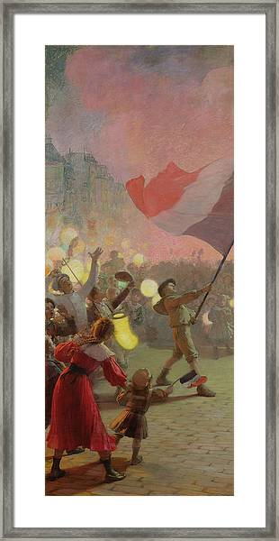 Memory Of The National Festival Framed Print