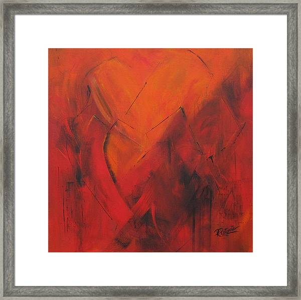 Mending Hearts Framed Print