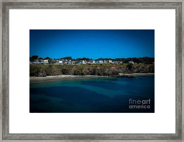 Mendocino California Framed Print