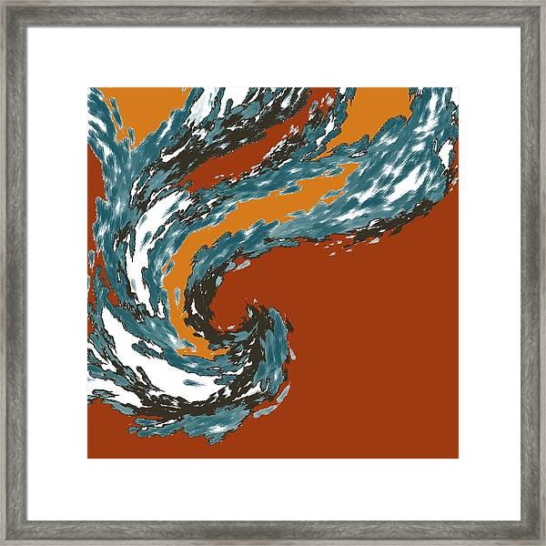 Mental Momentum Framed Print