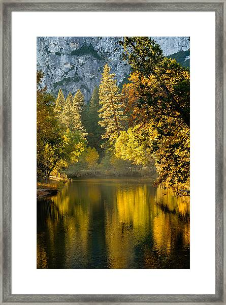 Merced Colors Framed Print