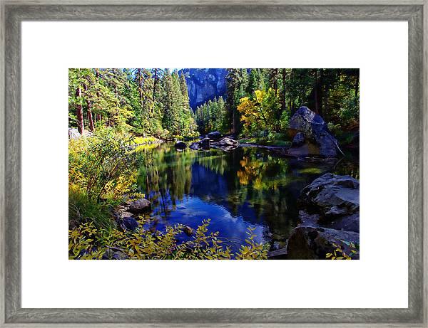 Merced River Yosemite National Park Framed Print