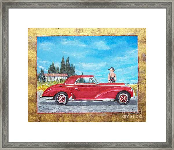 Mercedes-benz 300 Coupe Framed Print