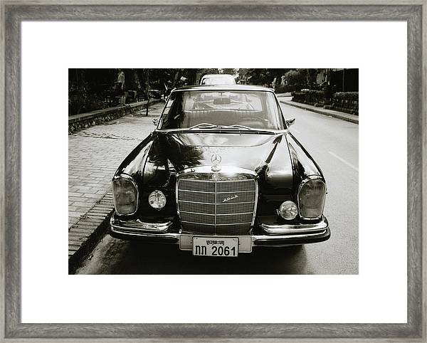 Mercedez Benz Framed Print