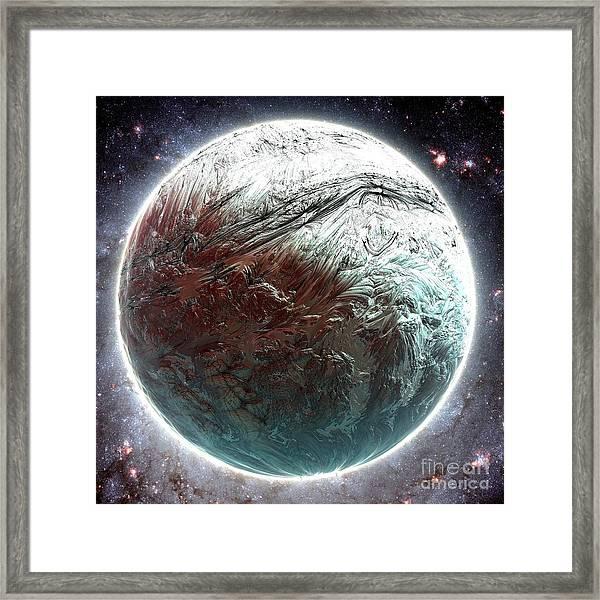 Mercury Planet Framed Print by Bernard MICHEL