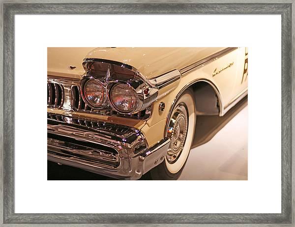 Mercury Shines Framed Print
