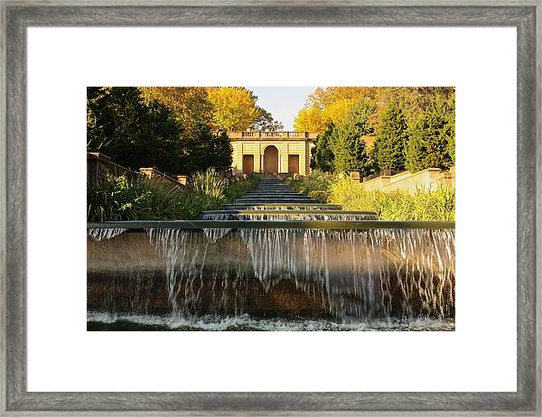 Meridian Hill Park Waterfall Framed Print