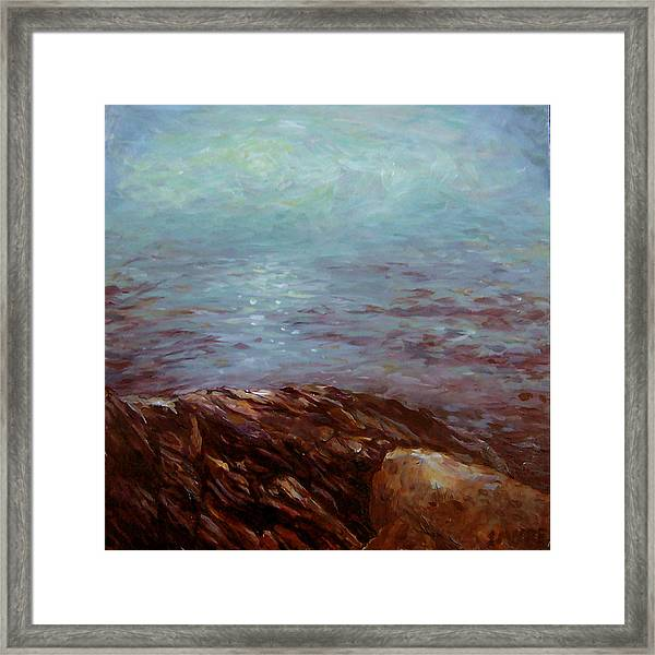 Mermaids Below Framed Print by Susan Moore