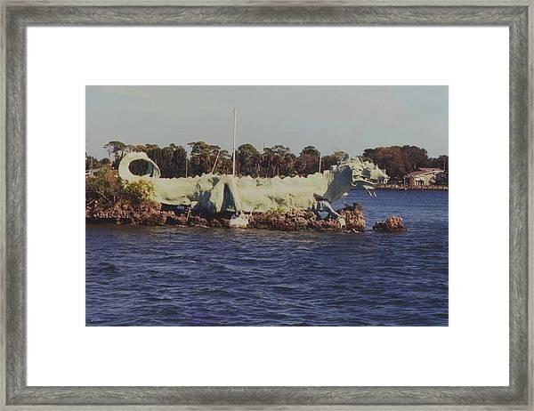 Merritt Island River Dragon Framed Print