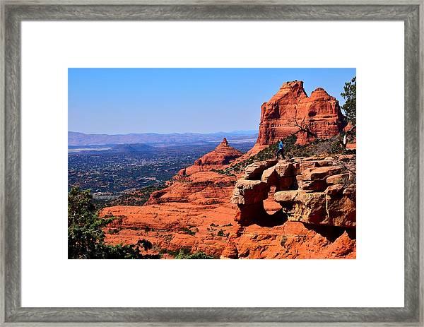 Merry-go-round Rock Framed Print