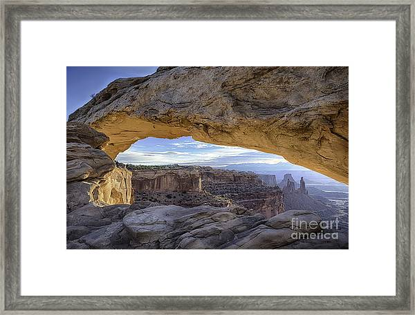 Mesa Arch Canyonlands Framed Print